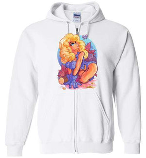 Curiosity-Gaming Zipper Hoodies-Pinteezy|Threadiverse