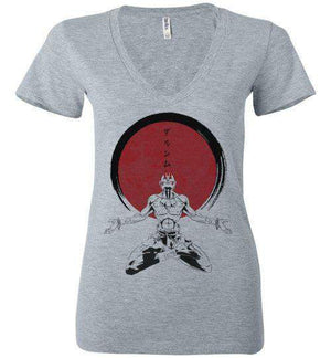 Dhalsim Zen-Gaming Women's V-Necks-Ddjvigo|Threadiverse
