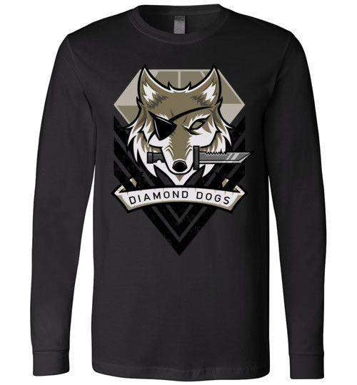Diamond Dogs-Gaming Long Sleeves-TrulyEpic|Threadiverse