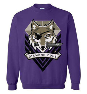 Diamond Dogs-Gaming Sweatshirts-TrulyEpic|Threadiverse