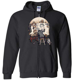 Doctor Rockwell-Pop Culture Hoodies-Creative Outpouring|Threadiverse