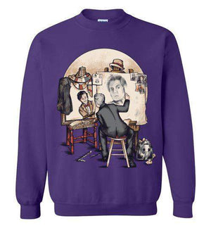 Doctor Rockwell-Pop Culture Sweatshirts-Creative Outpouring|Threadiverse