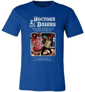 Doctors And Daleks-Pop Culture Shirts-Creative Outpouring|Threadiverse