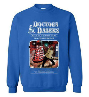 Doctors And Daleks-Pop Culture Sweatshirts-Creative Outpouring|Threadiverse