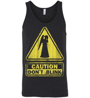 Don't Blink-Pop Culture Tank Tops-Ddjvigo|Threadiverse