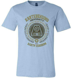 Earthbending University-Animation Shirts-Typhoonic Artwork|Threadiverse