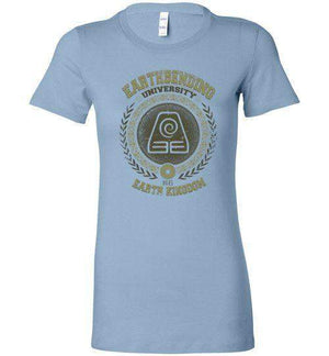 Earthbending University-Animation Women's Shirts-Typhoonic Artwork|Threadiverse