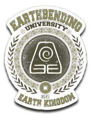 Earthbending University-Decals-Typhoonic Artwork|Threadiverse