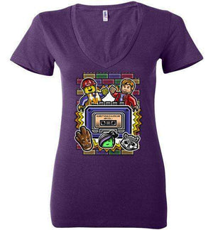 Everything Is Awesome Vol. 1-Comics Women's V-Necks-Punksthetic Designs|Threadiverse