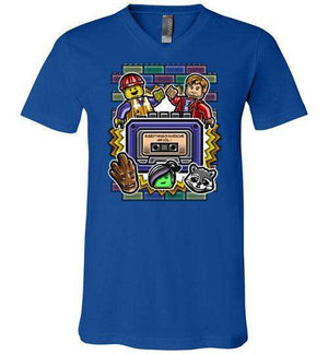 Everything Is Awesome Vol. 1-Comics V-Necks-Punksthetic Designs|Threadiverse