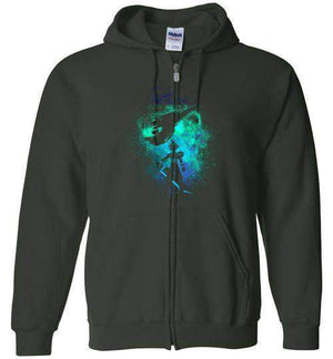Ex Soldier-Gaming Zipper Hoodies-Donnie Illustrateur|Threadiverse