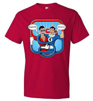 Fantastic Plastic-Comics Shirts-Stationjack|Threadiverse