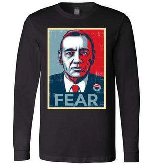 FEAR-Pop Culture Long Sleeves-CoD (Create Or Destroy) Designs|Threadiverse