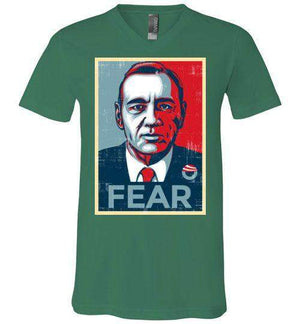 FEAR-Pop Culture V-Necks-CoD (Create Or Destroy) Designs|Threadiverse