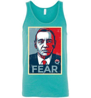 FEAR-Pop Culture Tank Tops-CoD (Create Or Destroy) Designs|Threadiverse