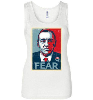 FEAR-Pop Culture Women's Tank Tops-CoD (Create Or Destroy) Designs|Threadiverse