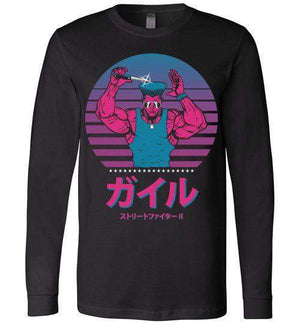 Fighting With Style-Gaming Long Sleeves-Ddjvigo|Threadiverse