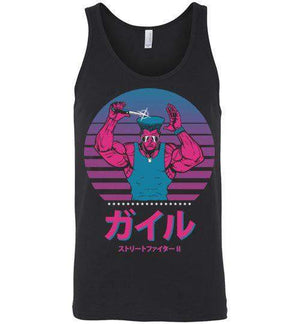Fighting With Style-Gaming Tank Tops-Ddjvigo|Threadiverse