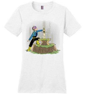 Fondo Trunks-Anime Women's Perfect Weight Shirts-Ddjvigo|Threadiverse