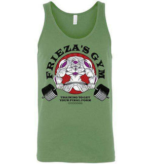Frieza's Gym-Anime Tank Tops-Ddjvigo|Threadiverse