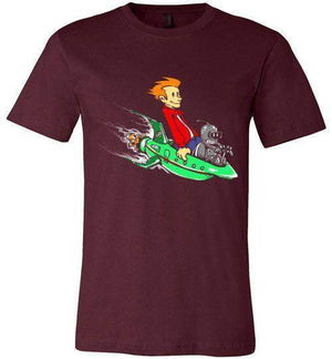 Fry And Bender-Animation Shirts-Punksthetic Designs|Threadiverse