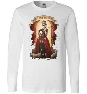 God Save The Quinn-Comics Long Sleeves-Saqman|Threadiverse