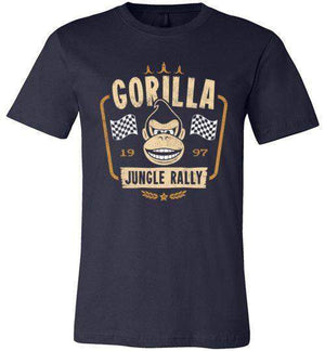 Gorilla Jungle Rally-Gaming Shirts-Stationjack|Threadiverse