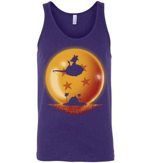 Hero On Sunset-Anime Tank Tops-Ddjvigo|Threadiverse