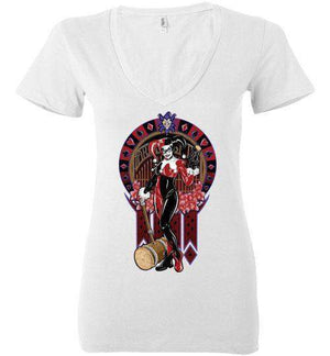Hey Puddin-Comics Women's V-Necks-TrulyEpic|Threadiverse