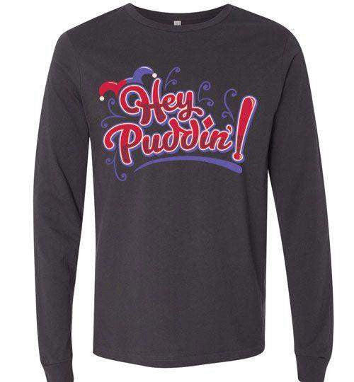 Heya Puddin-Comics Long Sleeves-TrulyEpic|Threadiverse