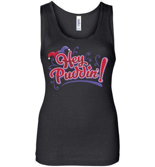 Heya Puddin-Comics Women's Tank Tops-TrulyEpic|Threadiverse