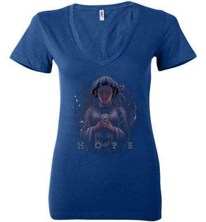 Hope-Pop Culture Women's V-Necks-Saqman|Threadiverse