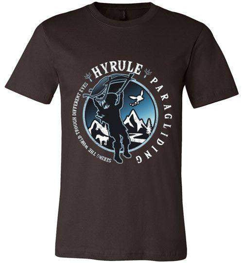 Hyrule Paragliding-Gaming Shirts-Kempo24|Threadiverse