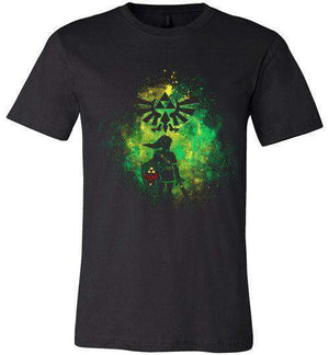 Hyrule's Hero-Gaming Shirts-Donnie Illustrateur|Threadiverse
