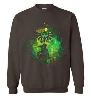 Hyrule's Hero-Gaming Sweatshirts-Donnie Illustrateur|Threadiverse