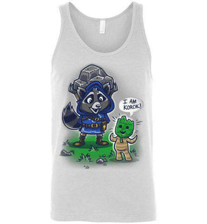 I Am Korok-Gaming Tank Tops-Punksthetic Designs|Threadiverse