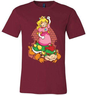 I Can Save Myself (Peach)-Gaming Shirts-TrulyEpic|Threadiverse