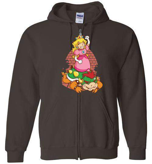 I Can Save Myself (Peach)-Gaming Hoodies-TrulyEpic|Threadiverse