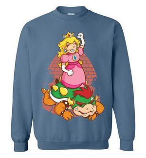 I Can Save Myself (Peach)-Gaming Sweatshirts-TrulyEpic|Threadiverse