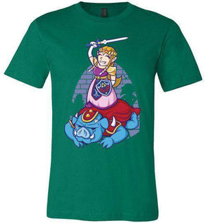 I Can Save Myself (Zelda)-Gaming Shirts-TrulyEpic|Threadiverse