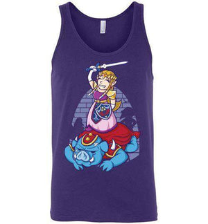 I Can Save Myself (Zelda)-Gaming Tank Tops-TrulyEpic|Threadiverse