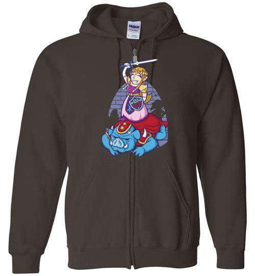 I Can Save Myself (Zelda)-Gaming Hoodies-TrulyEpic|Threadiverse