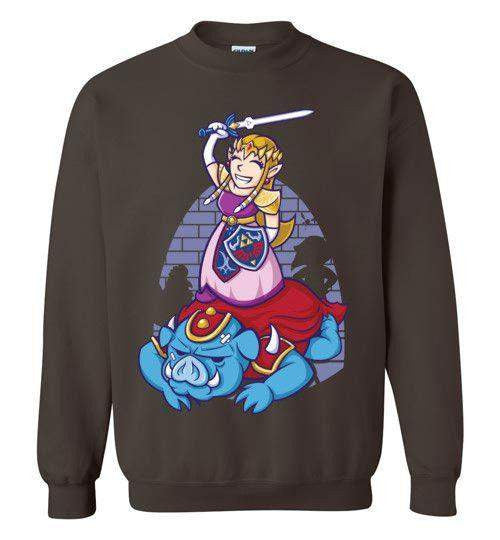 I Can Save Myself (Zelda)-Gaming Sweatshirts-TrulyEpic|Threadiverse