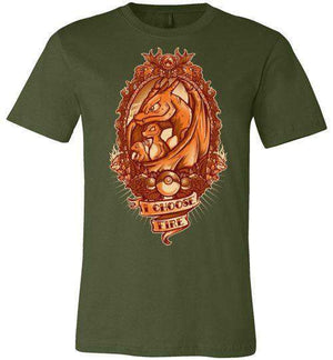 I Choose Fire-Gaming Shirts-JML2Art|Threadiverse