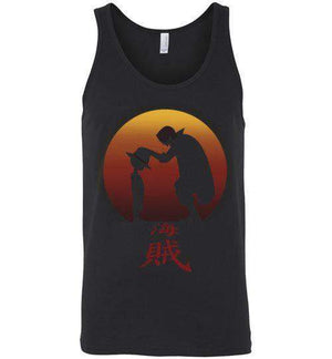 I Will Be Pirate King-Anime Tank Tops-Ddjvigo|Threadiverse