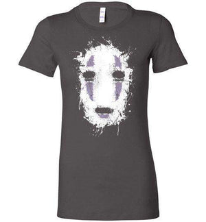 Ink No Face-Anime Women's Shirts-Ddjvigo|Threadiverse