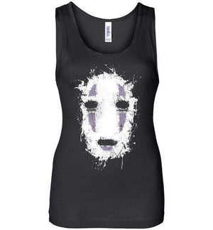 Ink No Face-Anime Women's Tank Tops-Ddjvigo|Threadiverse