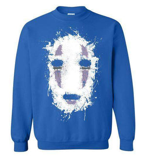 Ink No Face-Anime Sweatshirts-Ddjvigo|Threadiverse