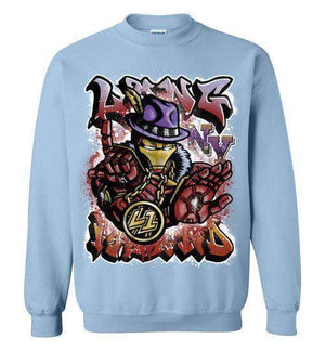 Ironman Long Island-Comics Sweatshirts-Punksthetic Designs|Threadiverse