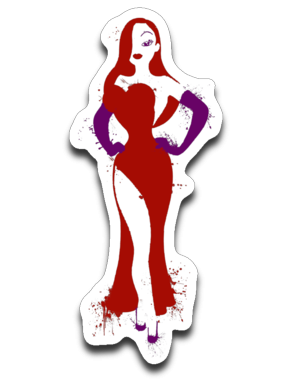 Jessica Rabbit-Decals-Wimido|Threadiverse